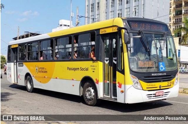 Vídeo: Motorista de empresa concorrente depreda ônibus em Campos dos Goytacazes - revistadoonibus