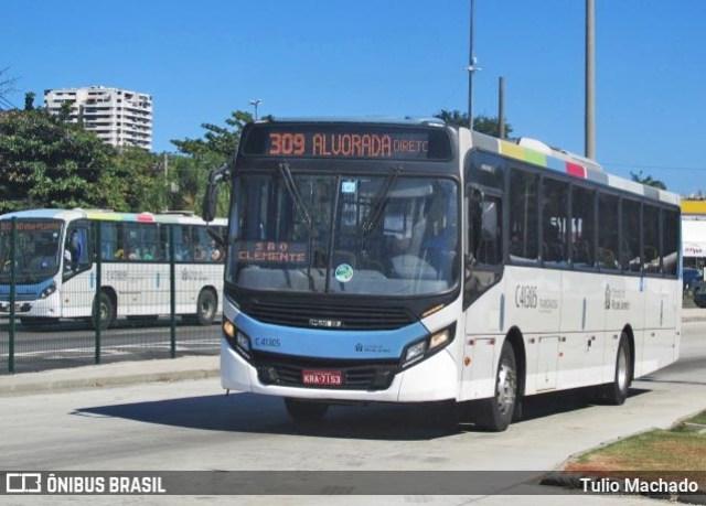 Rio: Ônibus da Real Auto Ônibus pega fogo no Túnel Rebouças - revistadoonibus