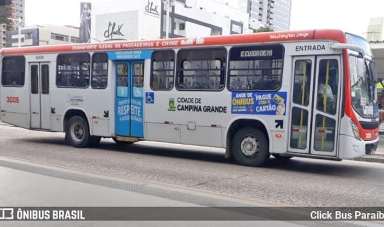 Campina Grande: Justiça determina que 30% da frota de ônibus retome a operação do transporte