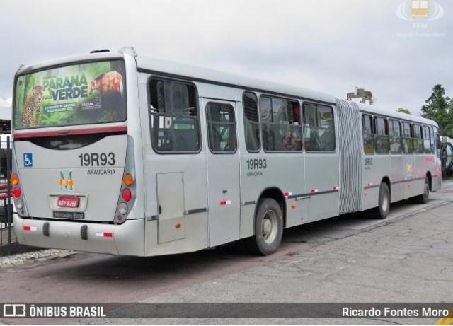 Vídeo: Incêndio em ônibus ligeirinho da linha Araucária x Capão Raso chama a atenção - revistadoonibus