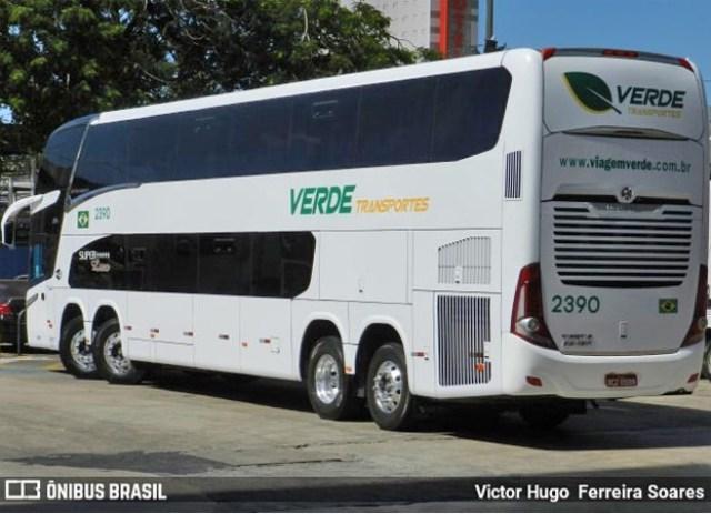 MT: Verdes Transportes incorpora em sua frota o Paradiso New G7 1800 DD Volvo 8x2 - revistadoonibus