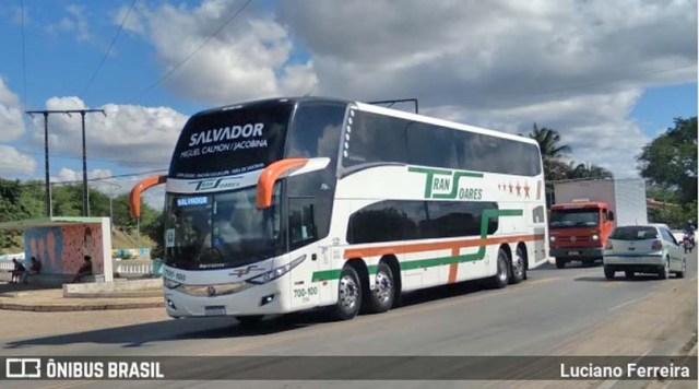 BA: Acidente entre moto e ônibus da Transoares chama a atenção em Jacobina - revistadoonibus