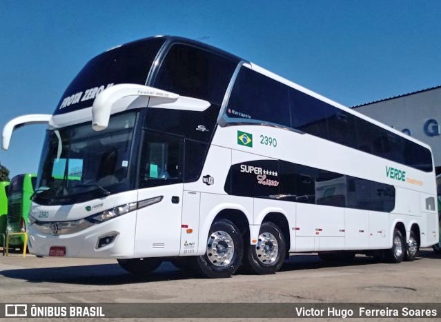 MT: Verdes Transportes incorpora em sua frota o Paradiso New G7 1800 DD Volvo 8×2