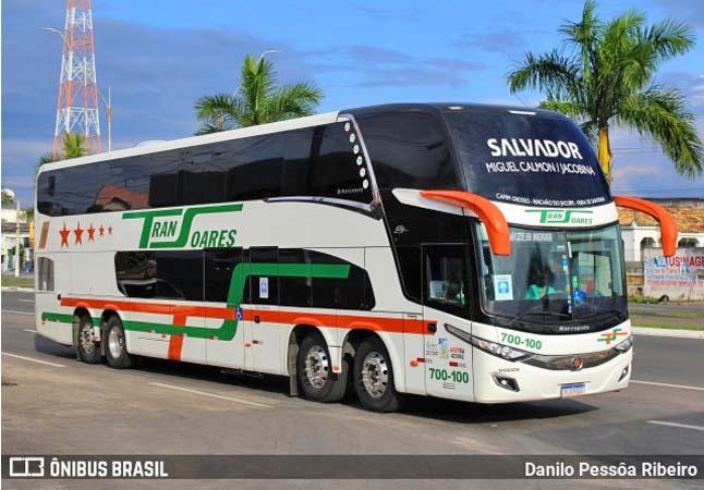 BA: Acidente entre moto e ônibus da Transoares chama a atenção em Jacobina