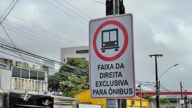 João Pessoa autoriza transporte escolar e de turismo a usarem faixas exclusivas de ônibus - revistadoonibus