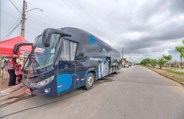 Maceió: Ônibus da Vacina chega ao litoral norte na segunda-feira