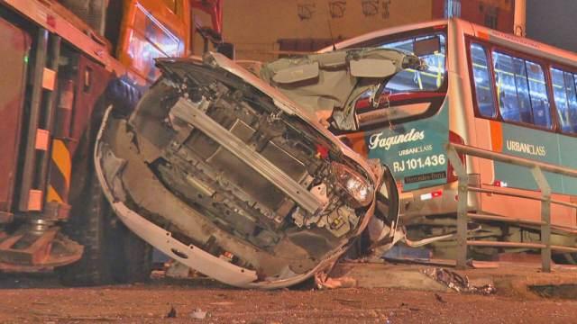 RJ: Polícia ouve motorista do caminhão guincho que causou acidente com ônibus em Niterói - revistadoonibus