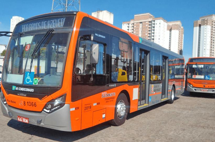 São Paulo: SPTrans desvia itinerários de ônibus devido obras na Zona Sul