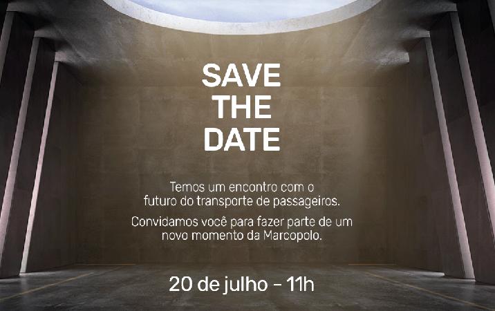 Marcopolo anuncia lançamento de novo produto para o próximo dia 20 de julho