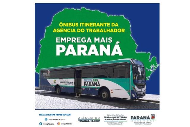 PR: Ônibus Emprega Mais vai atender Campina Grande do Sul e São José dos Pinhais - revistadoonibus