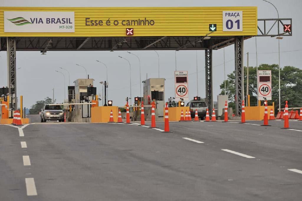 MT: Concessionárias passam a aceitar cartão para pagamento de pedágio nas rodovias