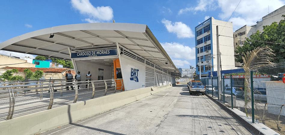 Rio: Prefeitura anuncia a abertura da estação  Cardoso de Moraes do BRT