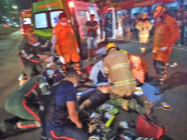 DF: Empresário ciclista morre atropelado por ônibus em Taguatinga - revistadoonibus