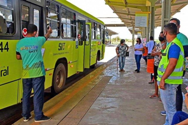 São Luís amplia frota de ônibus na retomada das aulas presenciais - revistadoonibus