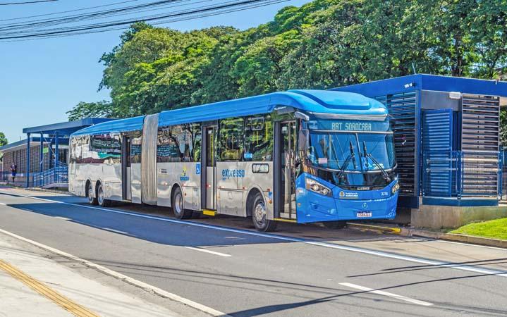 SP: BRT Sorocaba completa um ano de operação