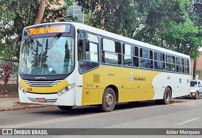 Rio Branco segue com 100% da frota de ônibus em operação