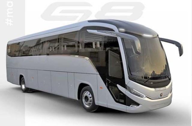Viação Garcia-Brasil Sul renova frota com veículos 31 novos ônibus Marcopolo G8 - revistadoonibus