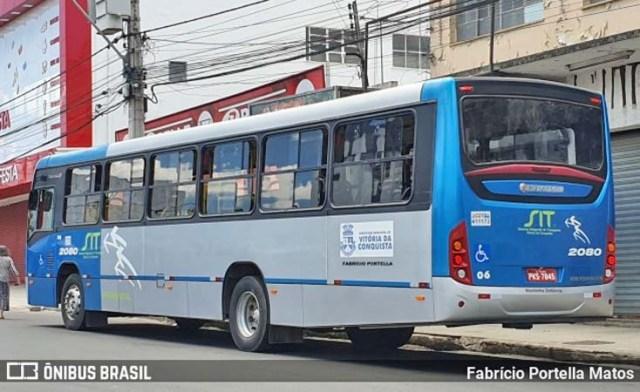 BA: Passageiro é detido após se masturbar dentro de ônibus em Vitória da Conquista - revistadoonibus