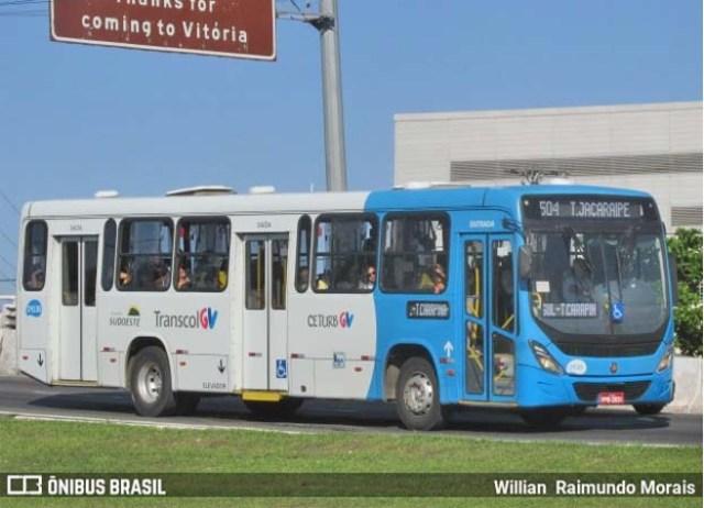 ES: Homem é preso por importunação sexual em ônibus do Transcol em Vila Velha - revistadoonibus