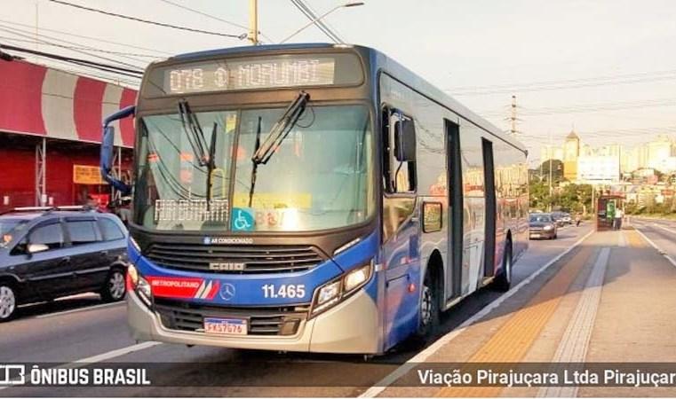 SP: Ônibus da Viação Pirajuçara é alvo de vandalismo na Rodovia Régis Bittencourt