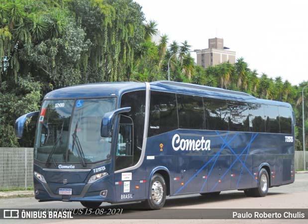 Viação Cometa escala novo ônibus Busscar no trecho São Paulo x Curitiba x São Paulo