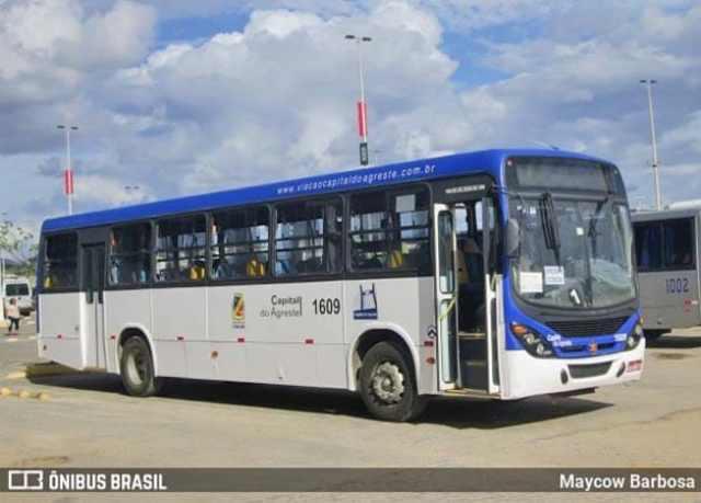 PE: Caruaru faz desvio provisório da rota de ônibus no Bairro Cidade Jardim - revistadoonibus