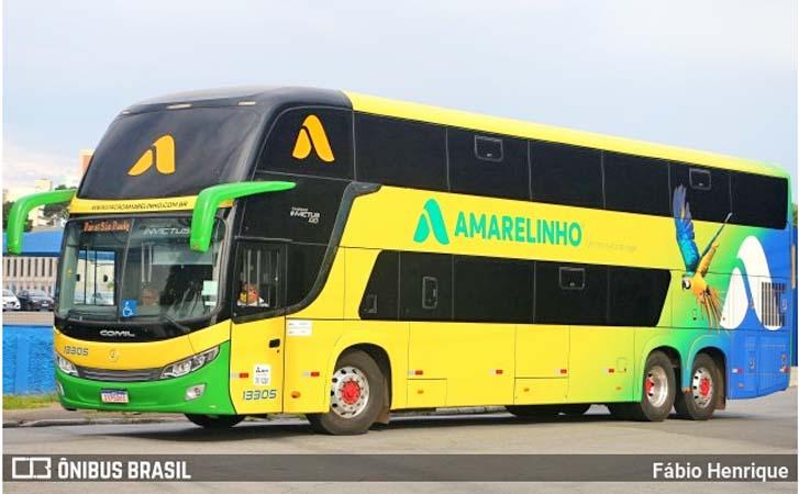 Viação Amarelinho segue perdendo passageiros na São Paulo x Ituiutaba x São Paulo