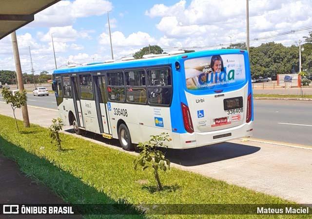 Brasília: Ônibus da Urbi atropelada idosa na Rodoviária do Plano Piloto - revistadoonibus