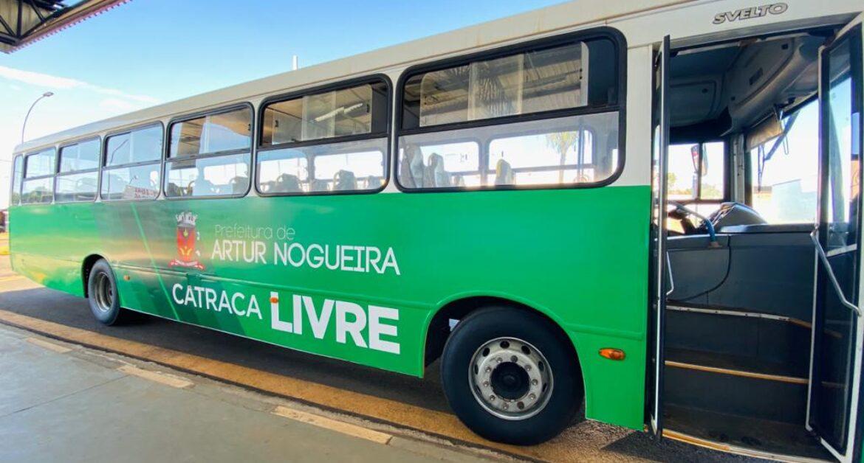 SP: Artur Nogueira altera horário do ônibus catraca livre. Veja o que muda
