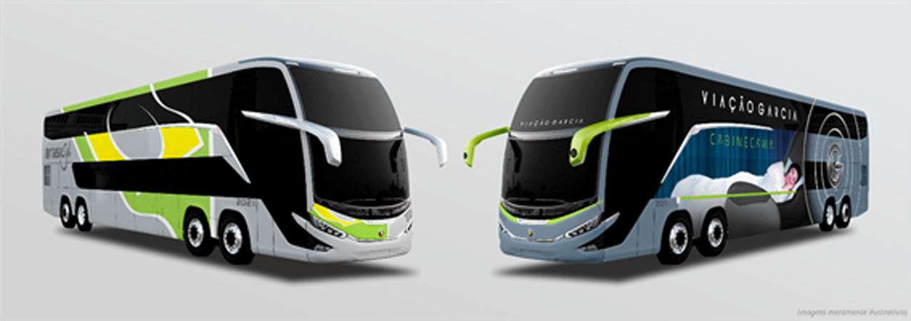 Viação Garcia-Brasil Sul renova frota com 31 novos ônibus Marcopolo G8
