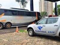 PR: Receita Federal apreende dois ônibus em fiscalização na BR-277 - revistadoonibus