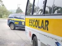 SC: PRF apreende micro-ônibus com 150 mil maços de cigarros na BR-153 em Água Doce - revistadoonibus