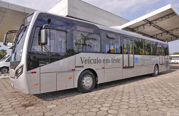 Manaus anuncia a compra de 40 novos ônibus, sendo 10 elétricos