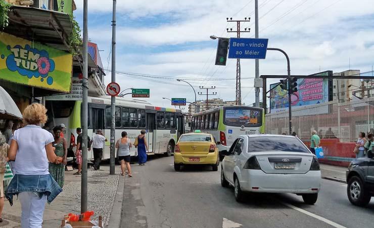 Rio: Ciclista é morto após ser atropelado por ônibus no Méier
