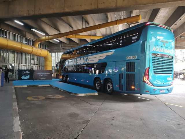 Viação Aguia Branca estréia com Marcopolo G8 na São Paulo x Rio nesta quinta-feira 16 - revistadoonibus