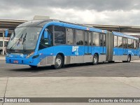 Vídeo: Ônibus do BRT Rio tem princípio de incêndio na Zona Oeste da cidade - revistadoonibus