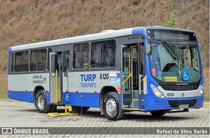 Petrópolis: Turp renova parte da frota com 10 novos ônibus Torino S Volks