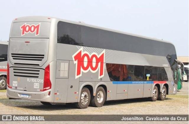 Auto Viação 1001 deve iniciar operação dos novos DD Buscar nos próximos dias - revistadoonibus