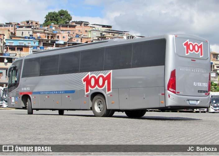 Auto Viação 1001 disponibilizará Busscar El Buss 320 com motor dianteiro em linhas que ligam Niterói ao Rio de Janeiro - revistadoonibus