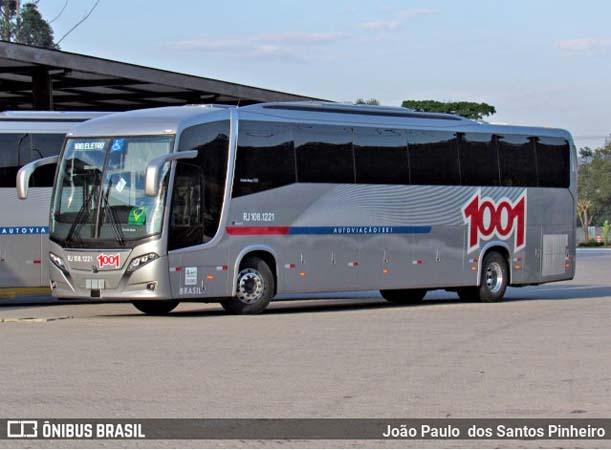 Rio: Auto Viação 1001 começa receber os novos Busscar Vissta Buss 360 Scania