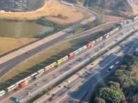 Vídeo: Motoristas de ônibus fretados fazem protesto em Belo Horizonte - revistadoonibus