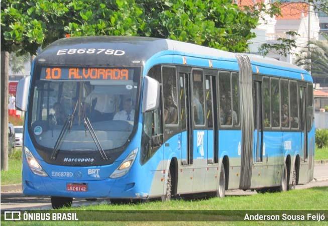 Vídeo: BRT RIO registra atrasos e lotação pelo segundo dia consecutivo na Zona Oeste