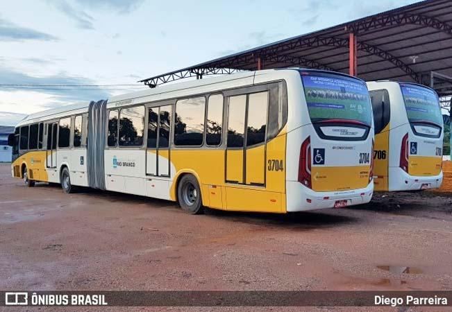 Rodoviários de Rio Branco iniciam paralisação nesta manhã