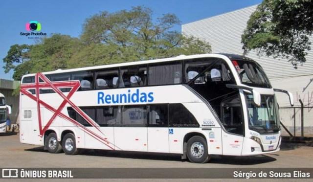 SP: Reunidas Paulista renova com oito ônibus Busscar DD e anuncia desfile da nova frota - revistadoonibus