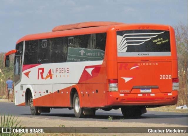 MA: Ônibus da R.A Viagens tomba deixando três mortos na BR-316 em Peritoró - revistadoonibus