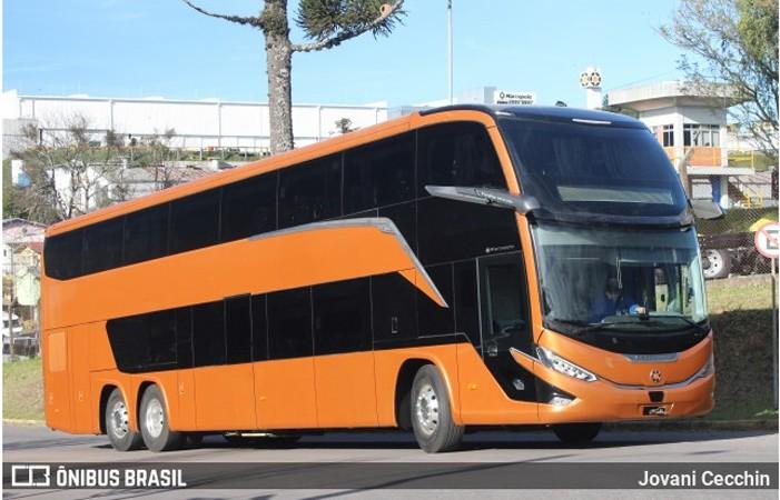 Marcopolo anuncia a venda de 200 ônibus Paradiso G8