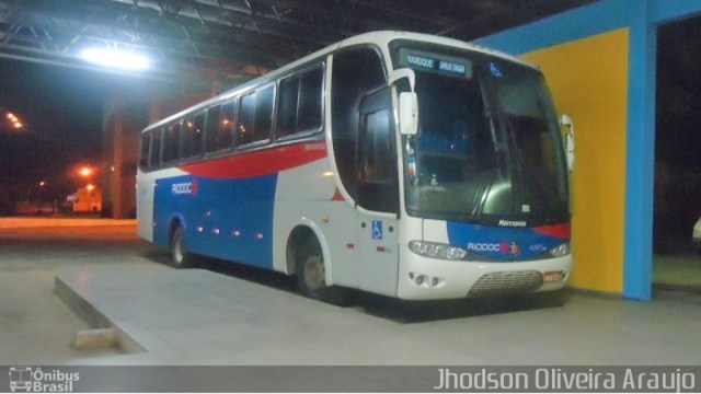 MG: Acidente entre caminhonete e ônibus da Rio Doce deixa uma pessoa ferida em Carlos Chagas - revistadoonibus