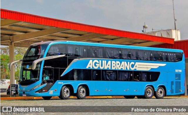 Aguia Branca e Marcopolo providenciam reparo em ônibus Paradiso G8 que apresentou goteiras em viagem ao RJ - revistadoonibus