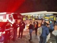 PR: Marginais realizam arrastão em ônibus Ligeirinho em Campo Largo - revistadoonibus