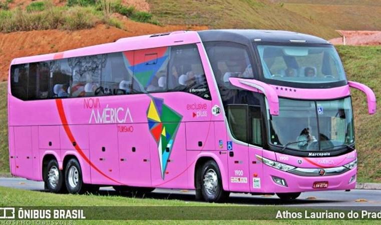 MG: Ônibus da Nova América Turismo que tombou em Barbacena possui quase 100 multas